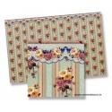 Paper garland flowers