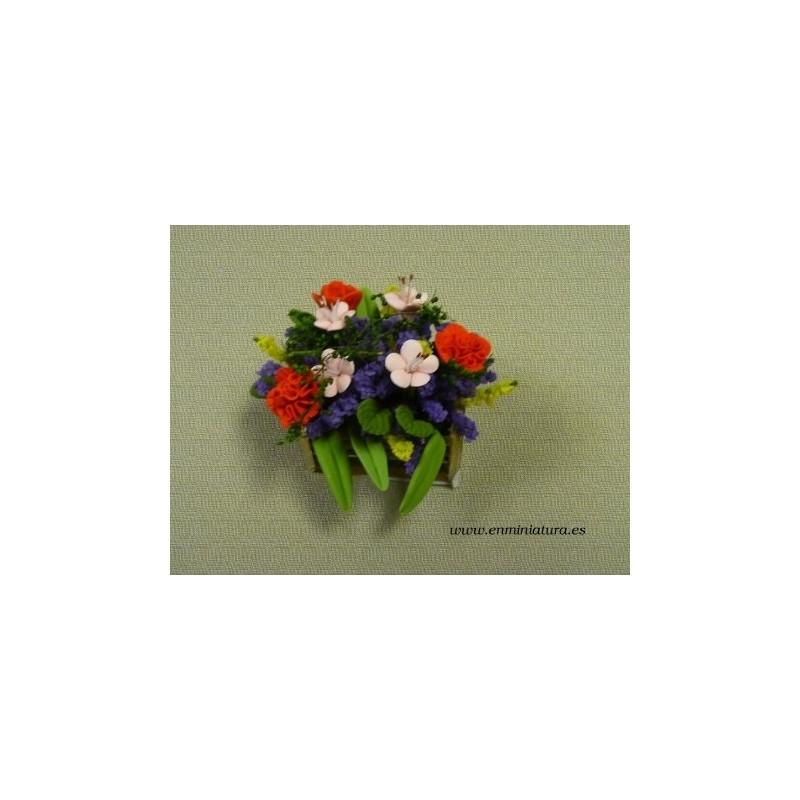 Barquilla de flores