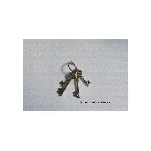 Set of golden keys