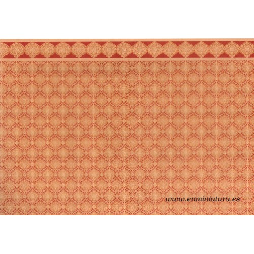 Red and ocher paper