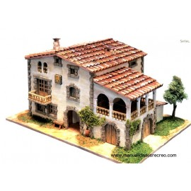 Models Of Brick Houses Or Stone Houses Construction Kits