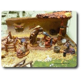 Nativity scenes and manger